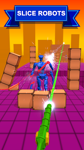 Slice them All! 3D modiapk screenshots 1