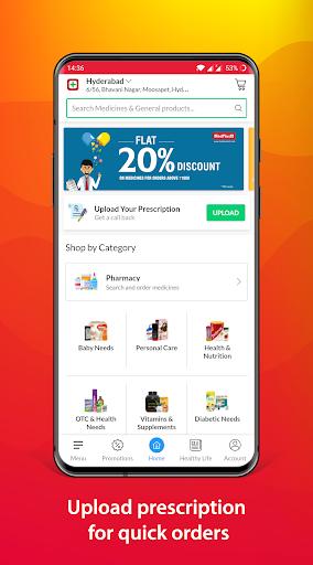 MedPlus Mart - Online Pharmacy apktram screenshots 1