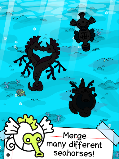 Seahorse Evolution - Merge & Create Sea Monsters 1.0.4 screenshots 7