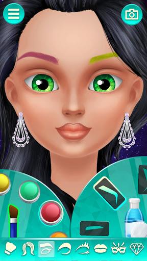 New Style Makeup - Creative Makeup Game for Girls apktreat screenshots 2