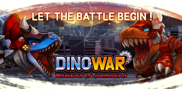 Dino War Mosas VS Tyranno Hack for iOS and Android 1