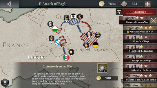 European War 6:1914 MOD APK 1.3.24 (Unlimited Money) 6