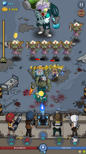 Zombie War: Idle Defense Game 17 screenshots 7