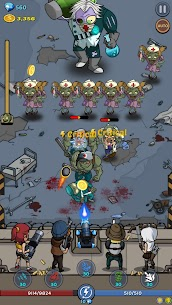 Zombie War: Idle Defense Game Mod Apk (Unlimited Money + No Ads) 5 7