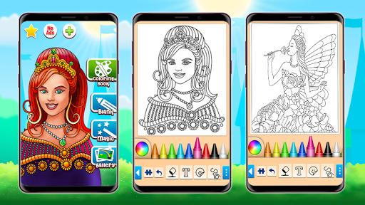 Princess Coloring Game 15.3.8 Screenshots 7