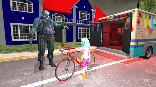 clown head haunted house granny game clown games 1.2 screenshots 4