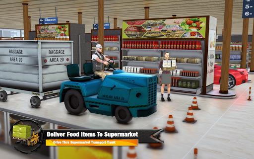 Supermarket Cargo Transport Truck Driving Sim 2019  screenshots 14