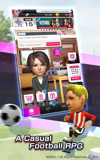SEGA POCKET CLUB MANAGER goodtube screenshots 5