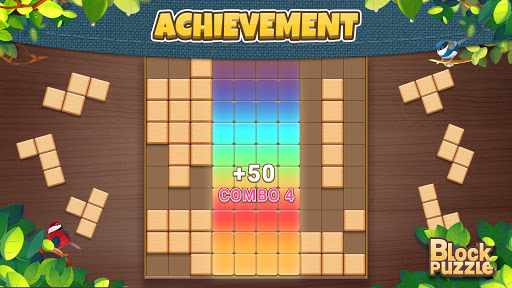 Wood Block Puzzle: Classic wood block puzzle games android2mod screenshots 12