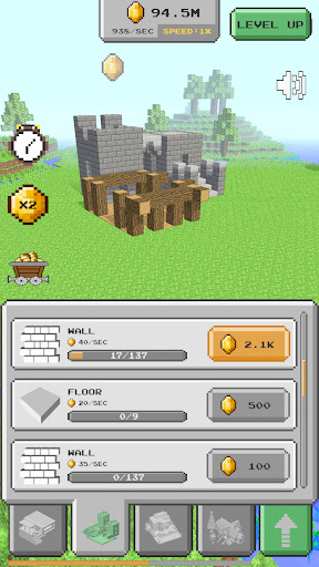 House Craft 3D - Idle Block Building Game Apkfinish screenshots 3