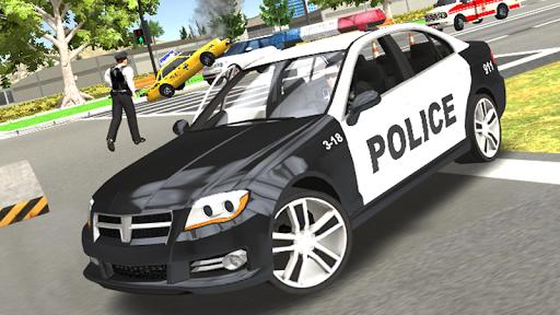 Police Car Chase - Cop Simulator  Screenshots 1