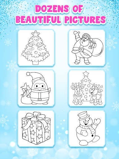Christmas Coloring Game - Learn Colors  screenshots 21