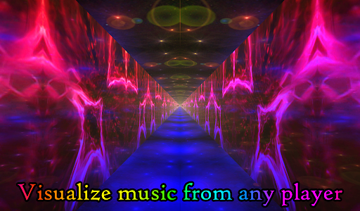 Alien Worlds Music Visualizer - Fluid UFO Chillout android2mod screenshots 8