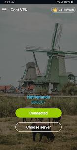 Goat VPN Mod Apk (VIP Activated) Unlimited Secure VPN 7