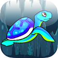 Deep Blue Sea Diving Turtle APK