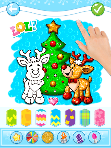 Christmas Coloring Game - Learn Colors  screenshots 15