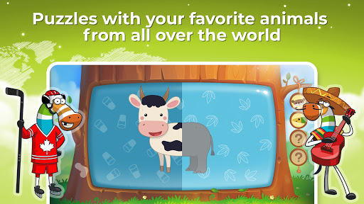 Zebrainy: learning games for kids and toddlers 2-7  screenshots 2