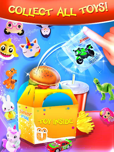 Happy Kids Meal Maker - Burger Cooking Game 1.2.9 screenshots 8