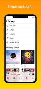 iMusic - Music Player IOS style 2.1.3 (Pro)
