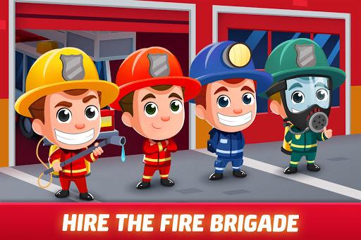 Idle Firefighter Tycoon - Fire Emergency Manager apktram screenshots 4