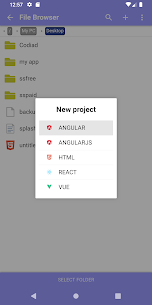 Acode – powerful code editor 5