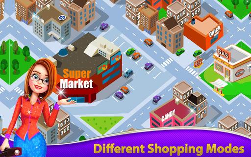 Supermarket Grocery Shopping: Mall Girl Games 2.0 screenshots 1