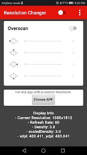 Screen Resolution Changer: Display Size & Density 2.0 Screenshots 11