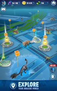 Download Jurassic World Alive MOD APK (Unlimited Battery, VIP Enabled) 5