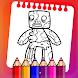 Coloring Game For PE Mods Character - Androidアプリ