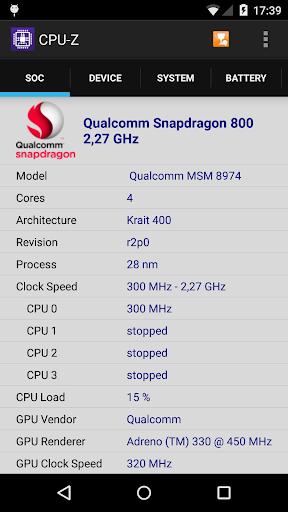 CPU-Z 1.40 screenshots 1