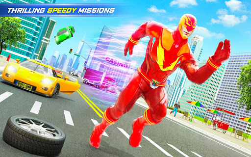 Grand Police Robot Speed Hero City Cop Robot Games modavailable screenshots 9