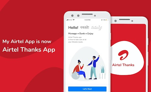 Airtel Thanks – Recharge, Bill Pay, Bank, Live TV 1
