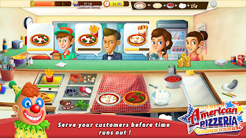 American Pizzeria Cooking Game