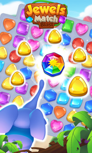 Jewels Match Blast - Match 3 Puzzle Game android2mod screenshots 6