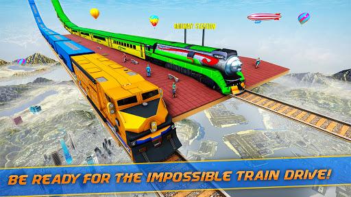 Mega Ramp Train Stunt Game  screenshots 1