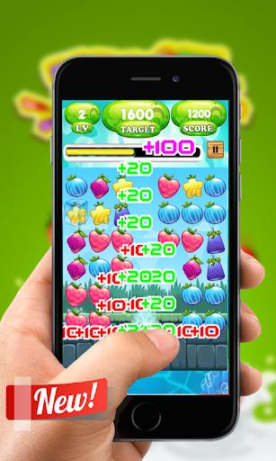 fruit puzzle link blast screenshot 1