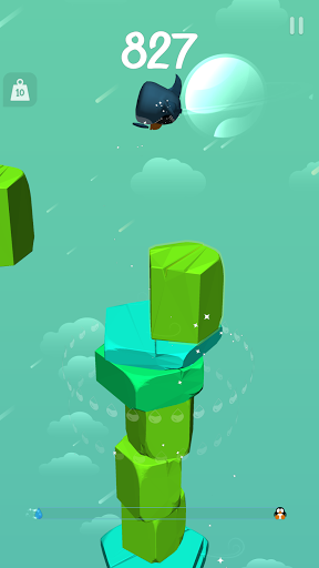 Floes: Tap and Bounce  screenshots 16