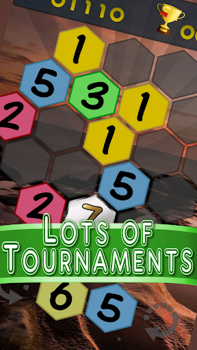 Get To 7, merge puzzle game - tournament edition.  screenshots 3
