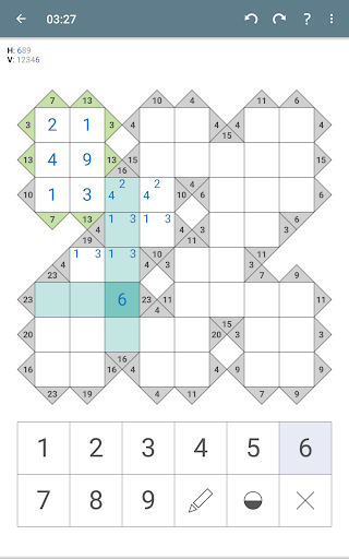 Kakuro (Cross Sums)  screenshots 18
