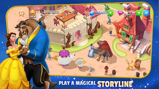 Disney Magic Kingdoms: Build Your Own Magical Park Mod Apk 6.0.0 (Unlimited Gems) 3