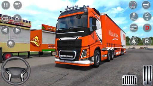 Euro Truck Driving Simulator 3D - Free Game screenshots 1