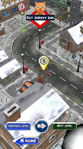 Leo Cat Ice Run - Frozen City screenshots 16