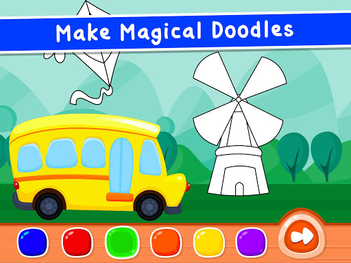 Coloring Games for Kids - Drawing & Color Book Apkfinish screenshots 12