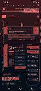 Cyberpunk Theme for KLWP 2