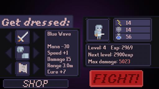 pixel rena - slime dungeon screenshot 2