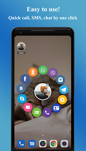 Contacts Widget MOD APK by Makeev Apps 1