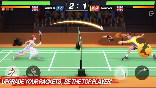 Badminton Blitz – Free PVP Online Sports Game Apk Mod + OBB/Data for Android. 3