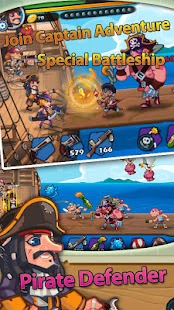 Pirate Defender Premium: Captain Shooting Offline Screenshot