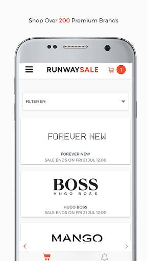 RunwaySale modavailable screenshots 1