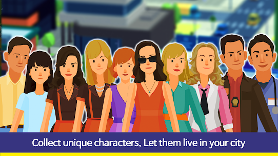 People and The City Mod Apk 1.0.706 (Free Stuff) 3